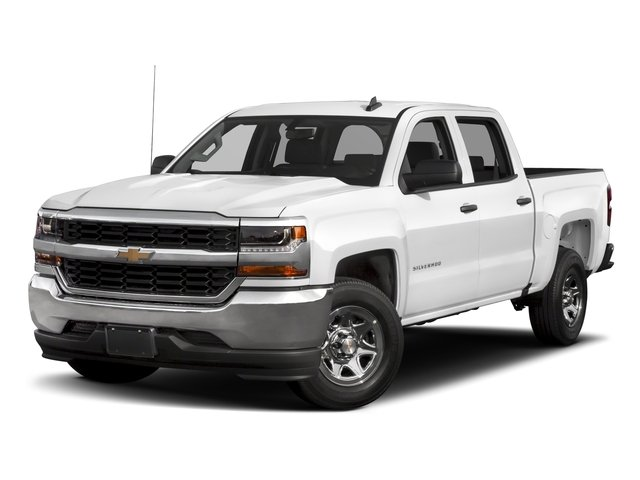 2018 Chevrolet Silverado 1500 Base Price 4WD Crew Cab 153.0 LS Pricing side front view