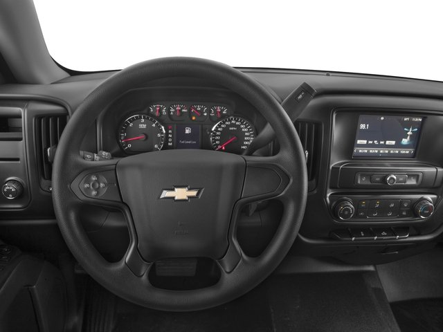2018 Chevrolet Silverado 1500 Base Price 4WD Crew Cab 153.0 LS Pricing driver's dashboard
