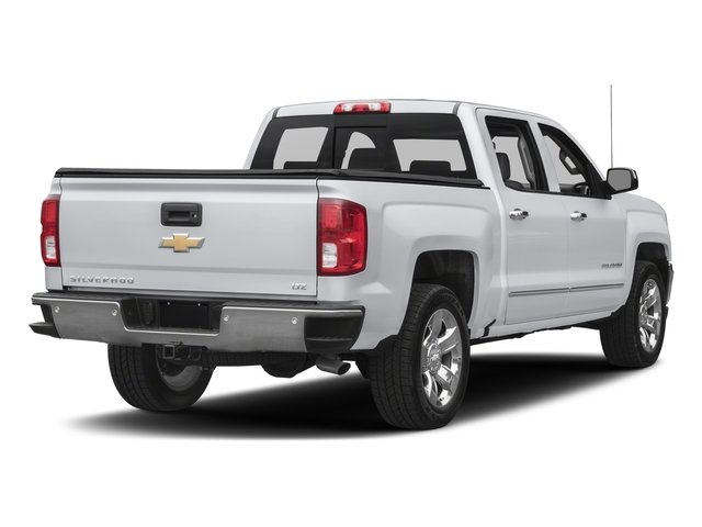 2018 Chevrolet Silverado 1500 Base Price 4WD Crew Cab 153.0 LTZ w/2LZ Pricing side rear view