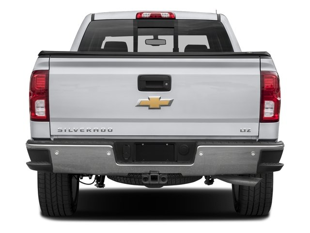 2018 Chevrolet Silverado 1500 Base Price 4WD Crew Cab 153.0 LTZ w/2LZ Pricing rear view