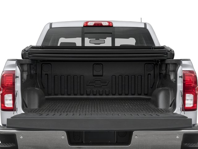 2018 Chevrolet Silverado 1500 Base Price 4WD Crew Cab 153.0 LTZ w/2LZ Pricing open trunk
