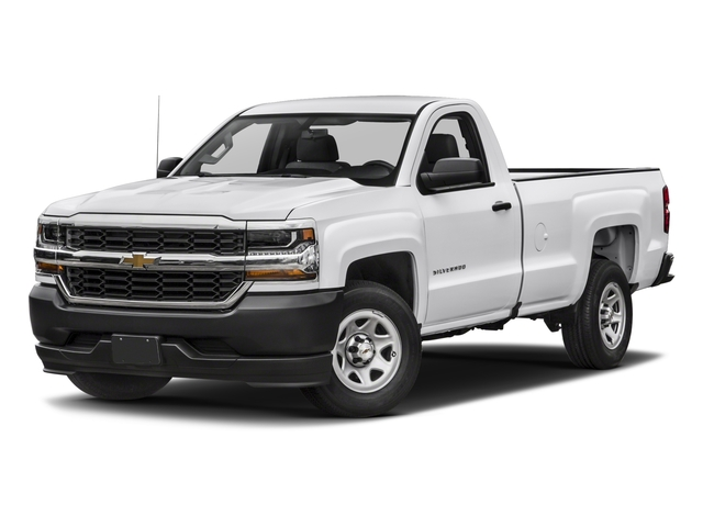 2018 Chevrolet Silverado 1500 Base Price 2WD Reg Cab 119.0 Work Truck Pricing side front view