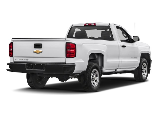 2018 Chevrolet Silverado 1500 Base Price 2WD Reg Cab 119.0 Work Truck Pricing side rear view