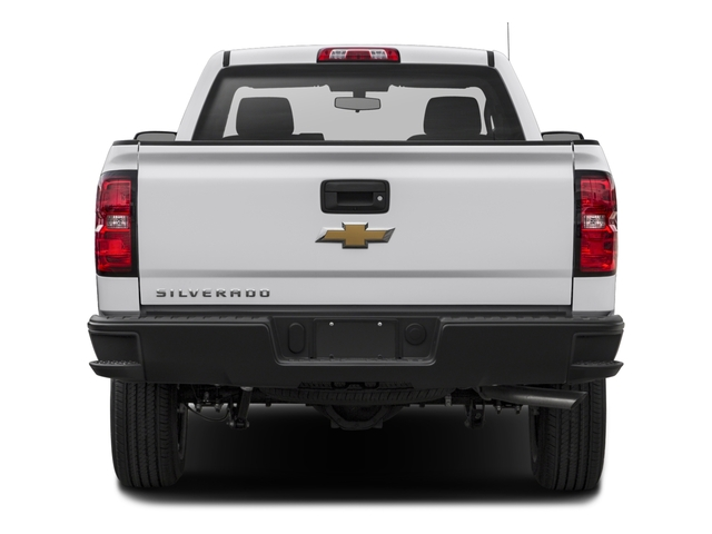 2018 Chevrolet Silverado 1500 Base Price 2WD Reg Cab 119.0 Work Truck Pricing rear view