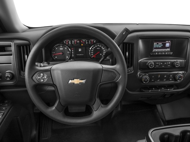 2018 Chevrolet Silverado 1500 Base Price 2WD Reg Cab 119.0 Work Truck Pricing driver's dashboard