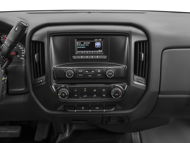 2018 Chevrolet Silverado 1500 Base Price 2WD Reg Cab 119.0 Work Truck Pricing stereo system