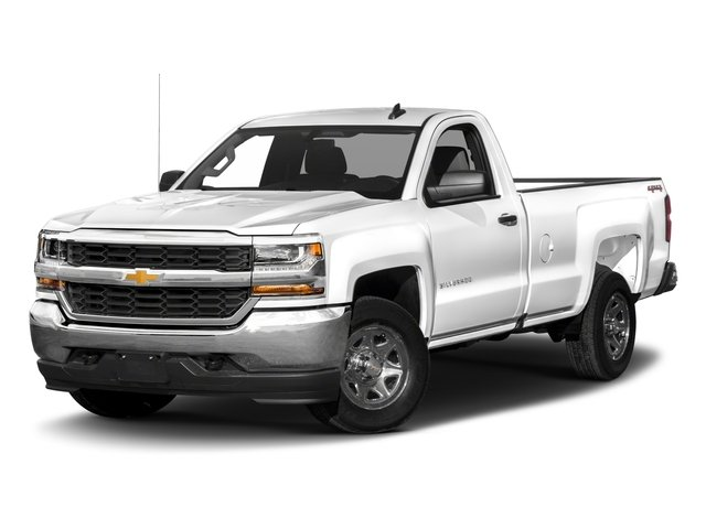 2018 Chevrolet Silverado 1500 Base Price 4WD Reg Cab 119.0 LS Pricing side front view