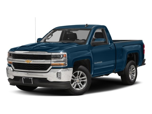 2018 Chevrolet Silverado 1500 Pictures Silverado 1500 4WD Reg Cab 133.0 LT w/2LT photos side front view