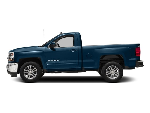 2018 Chevrolet Silverado 1500 Pictures Silverado 1500 4WD Reg Cab 133.0 LT w/2LT photos side view