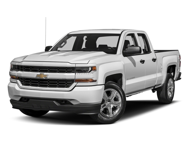 2018 Chevrolet Silverado 1500 Base Price 4WD Double Cab 143.5 Custom Pricing side front view