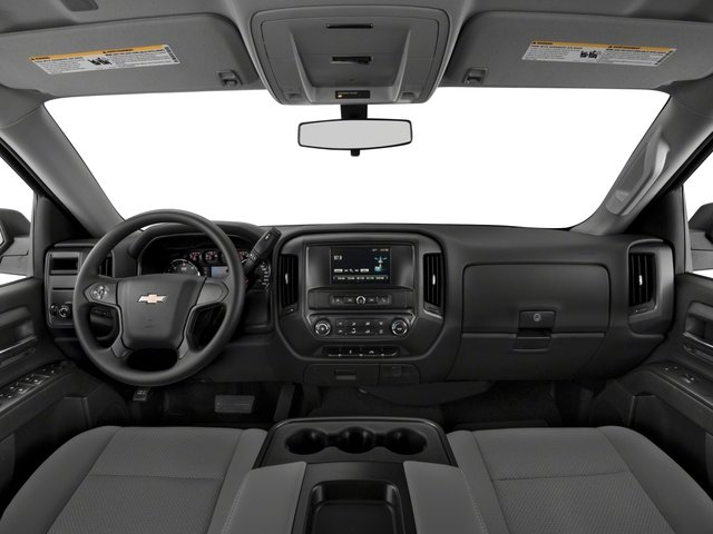 2018 Chevrolet Silverado 1500 Base Price 4WD Double Cab 143.5 Custom Pricing full dashboard