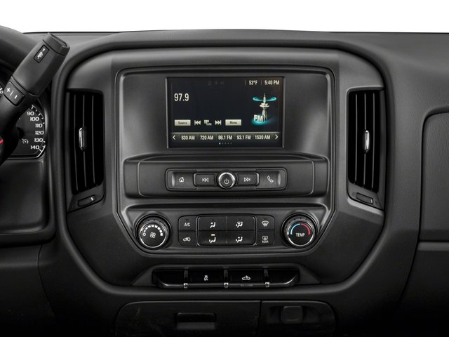 2018 Chevrolet Silverado 1500 Base Price 4WD Double Cab 143.5 Custom Pricing stereo system