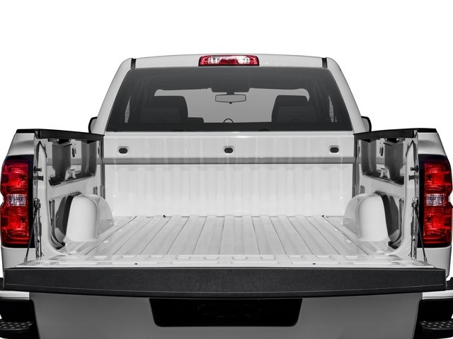 2018 Chevrolet Silverado 1500 Base Price 4WD Double Cab 143.5 Custom Pricing open trunk