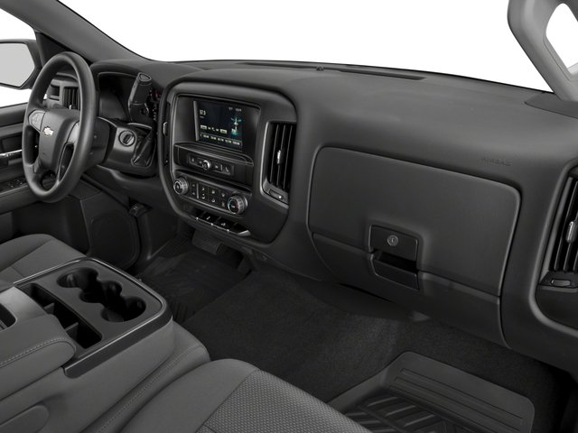 2018 Chevrolet Silverado 1500 Base Price 4WD Double Cab 143.5 Custom Pricing passenger's dashboard