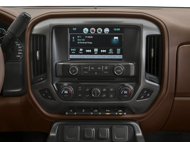 2018 Chevrolet Silverado 1500 Base Price 4WD Crew Cab 153.0 High Country Pricing stereo system