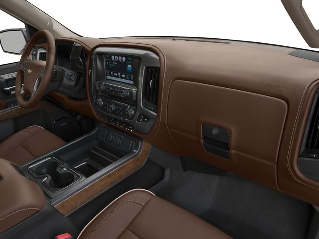 2018 Chevrolet Silverado 1500 Base Price 4WD Crew Cab 153.0 High Country Pricing passenger's dashboard