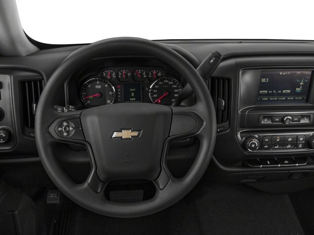 2018 Chevrolet Silverado 1500 Base Price 2WD Crew Cab 143.5 Custom Pricing driver's dashboard