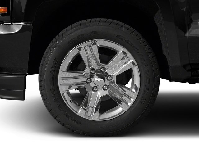 2018 Chevrolet Silverado 1500 Pictures Silverado 1500 4WD Crew Cab 143.5 Custom photos wheel