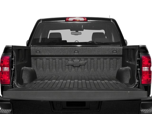2018 Chevrolet Silverado 1500 Pictures Silverado 1500 4WD Crew Cab 143.5 Custom photos open trunk