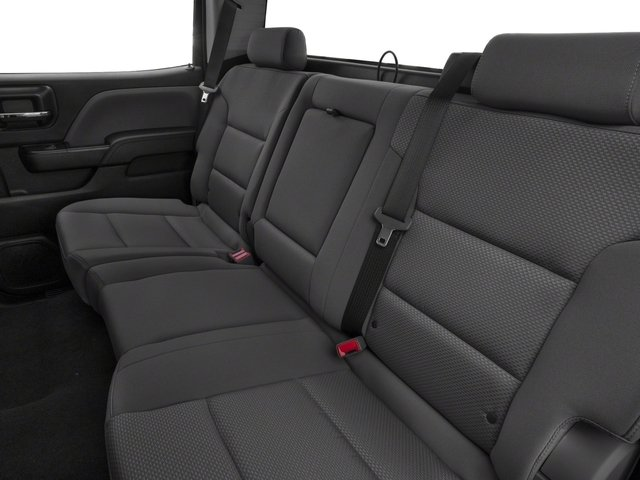 2018 Chevrolet Silverado 1500 Pictures Silverado 1500 4WD Crew Cab 143.5 Custom photos backseat interior