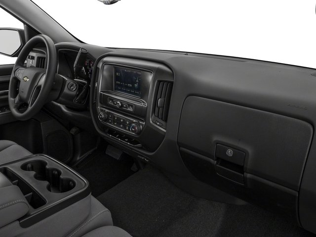 2018 Chevrolet Silverado 1500 Base Price 2WD Crew Cab 143.5 Custom Pricing passenger's dashboard