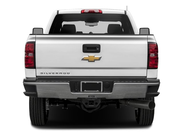 2018 Chevrolet Silverado 3500HD Base Price 4WD Double Cab 158.1 Work Truck Pricing rear view