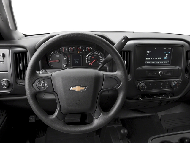 2018 Chevrolet Silverado 3500HD Base Price 4WD Double Cab 158.1 Work Truck Pricing driver's dashboard