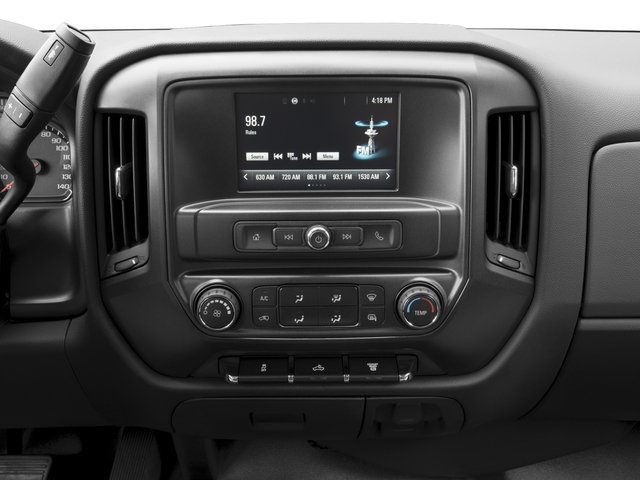 2018 Chevrolet Silverado 3500HD Base Price 4WD Double Cab 158.1 Work Truck Pricing stereo system