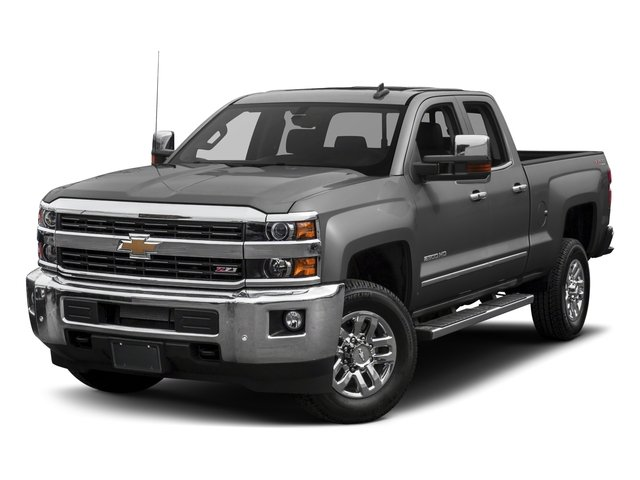 2018 Chevrolet Silverado 2500HD Base Price 4WD Double Cab 144.2 LTZ Pricing side front view