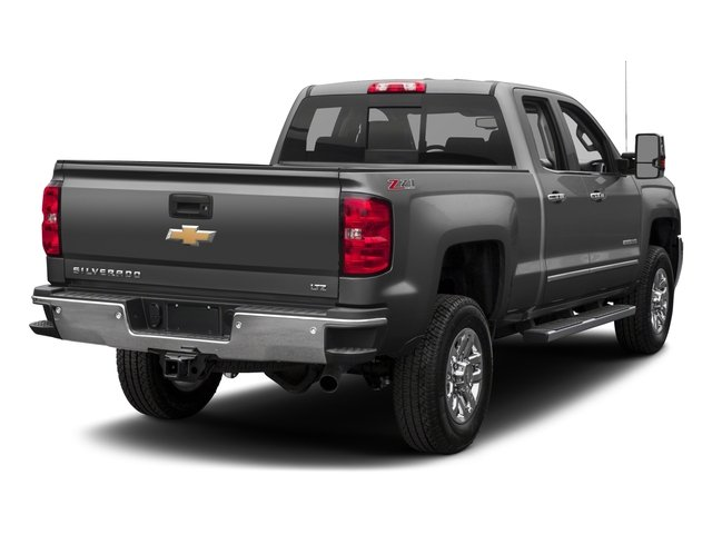 2018 Chevrolet Silverado 2500HD Base Price 2WD Double Cab 144.2 LTZ Pricing side rear view