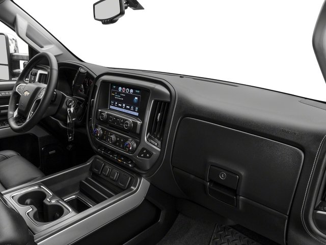 2018 Chevrolet Silverado 2500HD Base Price 2WD Double Cab 144.2 LTZ Pricing passenger's dashboard