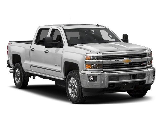 2018 Chevrolet Silverado 2500HD Prices and Values Crew Cab LTZ 4WD side front view