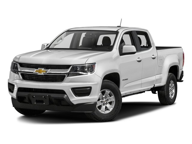 2018 Chevrolet Colorado Base Price 2WD Crew Cab 128.3 Work Truck Pricing side front view