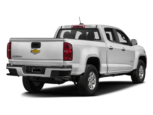 2018 Chevrolet Colorado Base Price 2WD Crew Cab 128.3 Work Truck Pricing side rear view