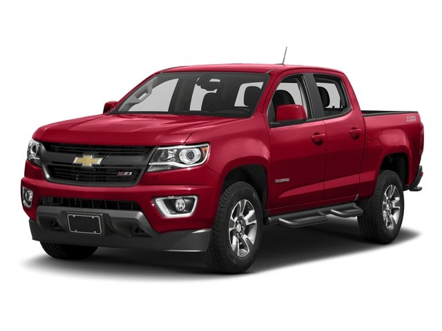 2018 Chevrolet Colorado Base Price 2WD Crew Cab 128.3 Z71 Pricing side front view