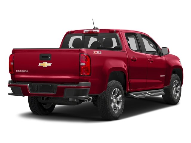 2018 Chevrolet Colorado Base Price 2WD Crew Cab 128.3 Z71 Pricing side rear view