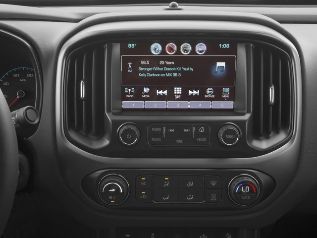 2018 Chevrolet Colorado Base Price 2WD Crew Cab 128.3 Z71 Pricing stereo system