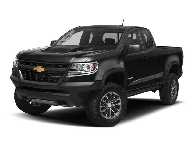 2018 Chevrolet Colorado Base Price 4WD Ext Cab 128.3 ZR2 Pricing side front view