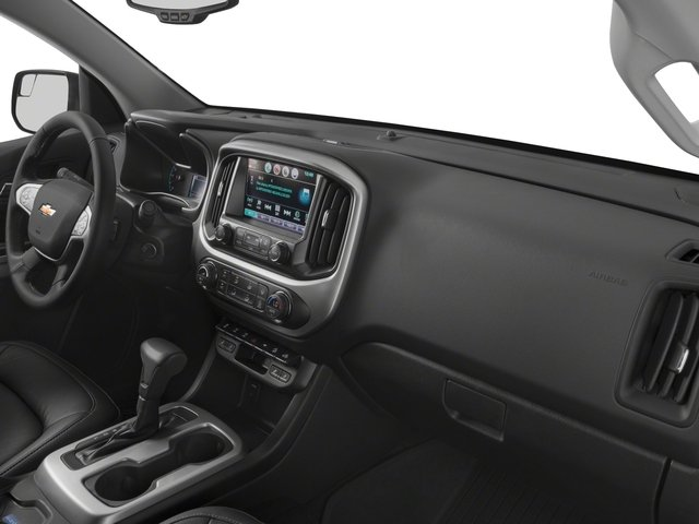2018 Chevrolet Colorado Base Price 4WD Ext Cab 128.3 ZR2 Pricing passenger's dashboard
