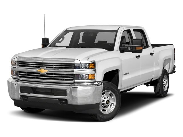 2018 Chevrolet Silverado 2500HD Pictures Silverado 2500HD 4WD Crew Cab 167.7 Work Truck photos side front view