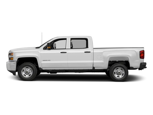 2018 Chevrolet Silverado 2500HD Pictures Silverado 2500HD 4WD Crew Cab 167.7 Work Truck photos side view