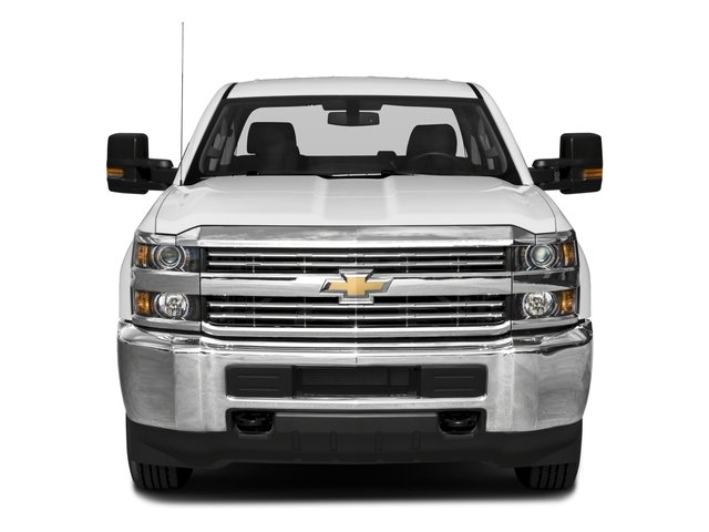2018 Chevrolet Silverado 2500HD Pictures Silverado 2500HD 4WD Crew Cab 167.7 Work Truck photos front view