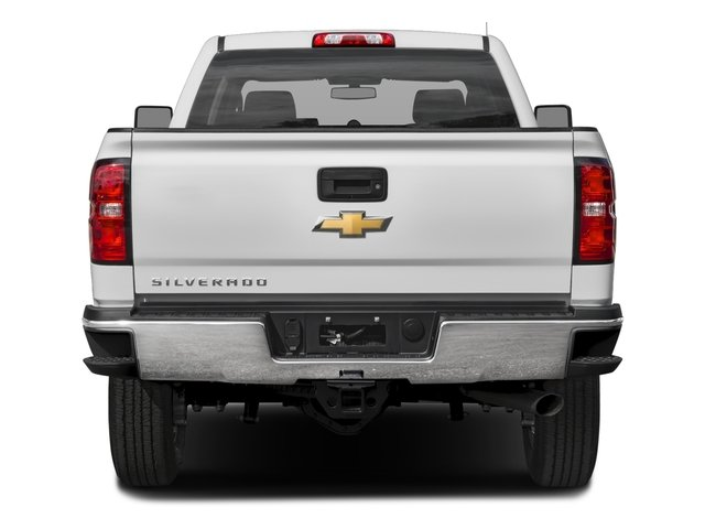 2018 Chevrolet Silverado 2500HD Pictures Silverado 2500HD 4WD Crew Cab 167.7 Work Truck photos rear view