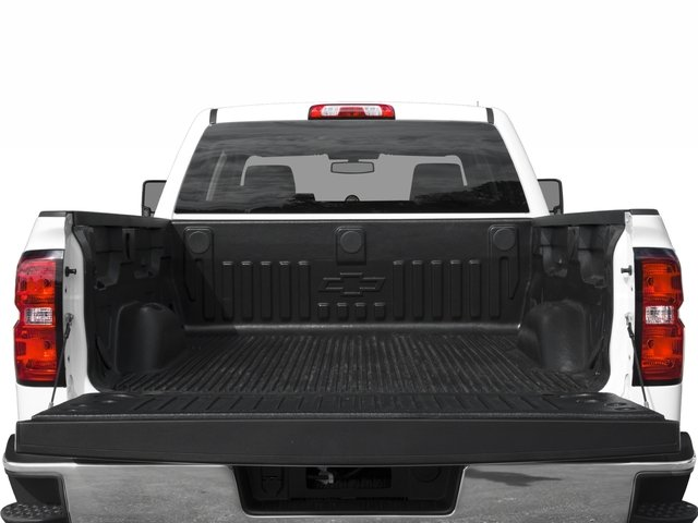 2018 Chevrolet Silverado 2500HD Pictures Silverado 2500HD 4WD Crew Cab 167.7 Work Truck photos open trunk