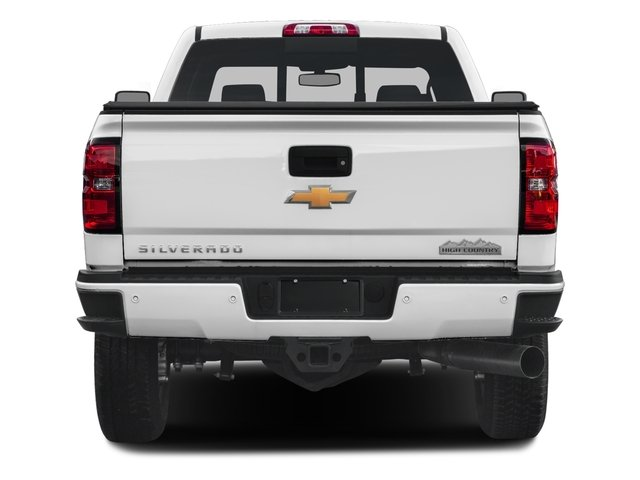 2018 Chevrolet Silverado 3500HD Base Price 4WD Crew Cab 167.7 High Country Pricing rear view