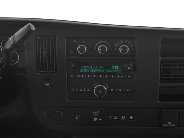 2018 Chevrolet Express Cargo Van Pictures Express Cargo Van RWD 3500 155 photos stereo system