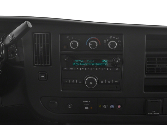 2018 Chevrolet Express Cargo Van Base Price RWD 2500 155 Pricing stereo system