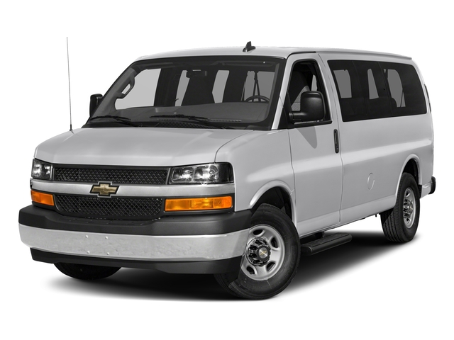 fac2e3143c 2018 Chevrolet Express Passenger Base Price RWD 2500 135 LS Pricing side  front view