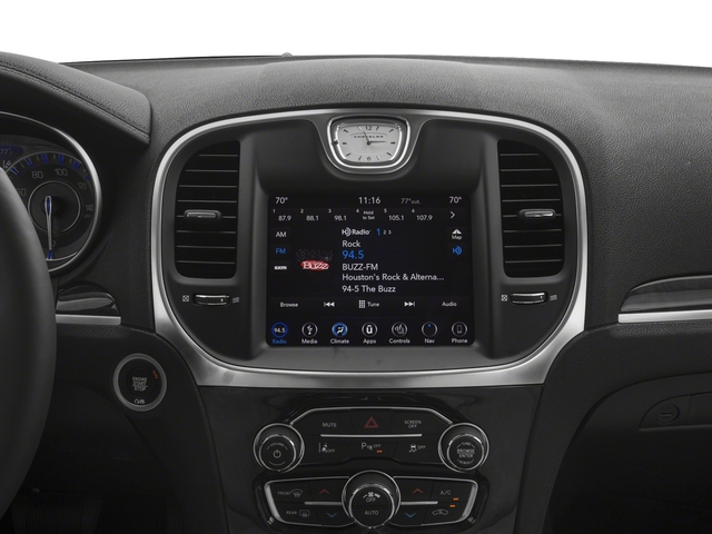 2018 Chrysler 300 Base Price Touring RWD Pricing stereo system