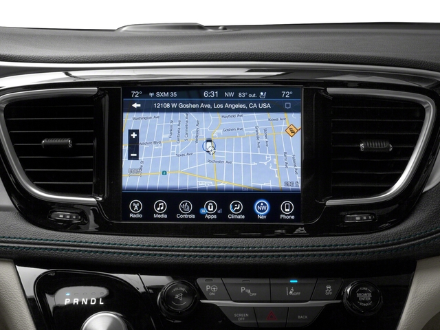 2018 Chrysler Pacifica Pictures Hybrid Touring L Fwd Photos Navigation System